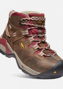 Women's Detroit XT Waterproof Steel Toe Safety Boot by Keen Utility