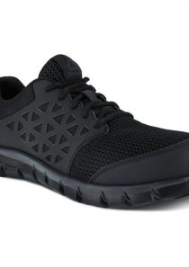 Women's Sublite Work Shoe – Black by Reebok
