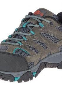 Women's Moab Vertex Vent Comp Toe Work Shoe in Brown by Merrell