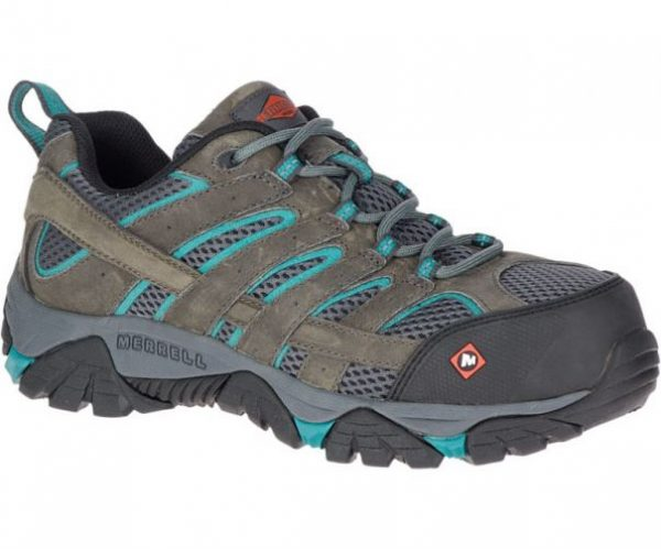 a182a7c241 Women's Moab Vertex Vent Comp Toe Work Shoe in Brown by Merrell
