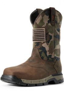 Men's Rebar Flex Patriot Waterproof Composite Toe Work Boot by Ariat