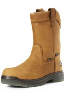 Men's Turbo Pull-On Waterproof Carbon Toe Work Boot by Ariat