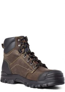 Men's Treadfast 6″ Waterproof Steel Toe Work Boot by Ariat