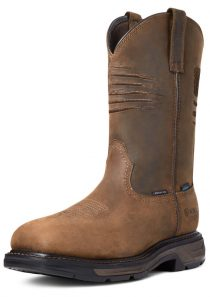 Men's WorkHog XT Patriot Waterproof Carbon Toe Work Boot by Ariat